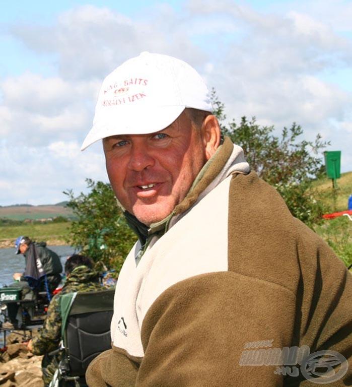 A 7-es helyen horgászva nyerte meg a szektorát Tari István, aki így a harmadik lett a keszegező viadalban
