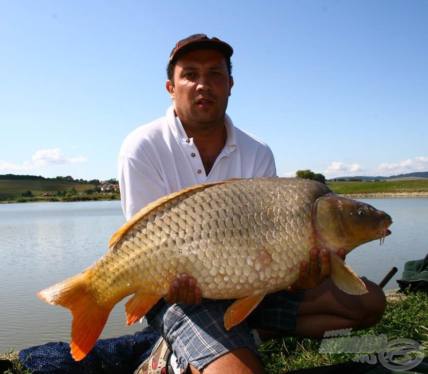 A második nap bajnoka Németh Balázs lett 55.820 grammal