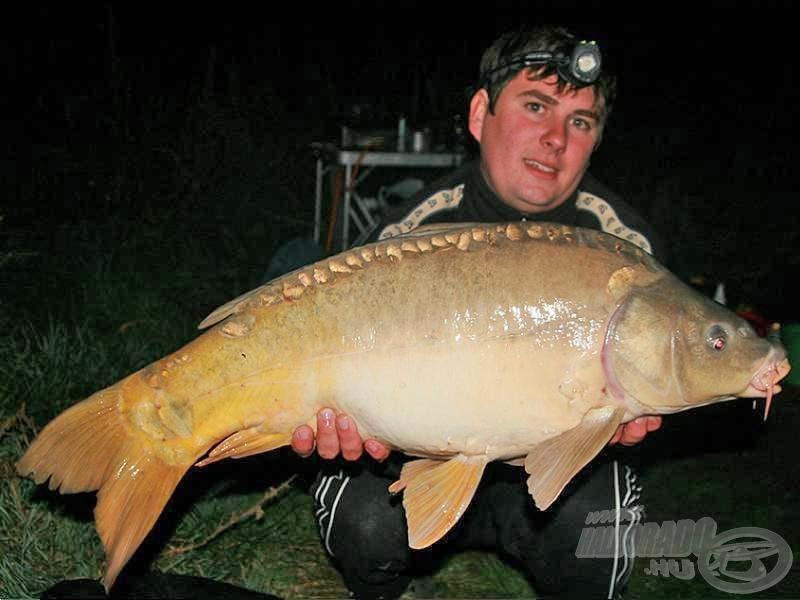 Peti első hala 9 kg-os volt