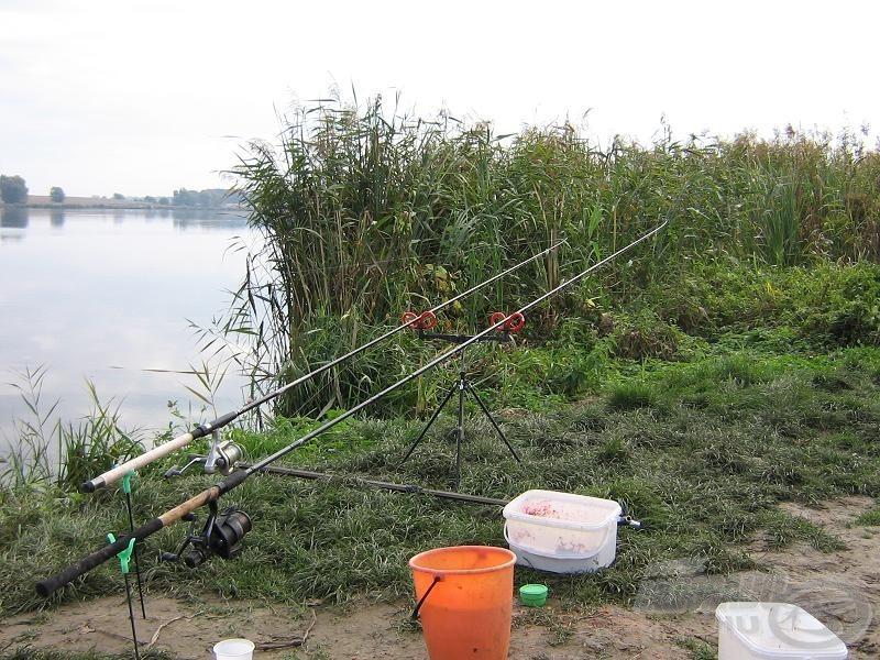 A finomszerelékes felszerelésünk halacskákra vár