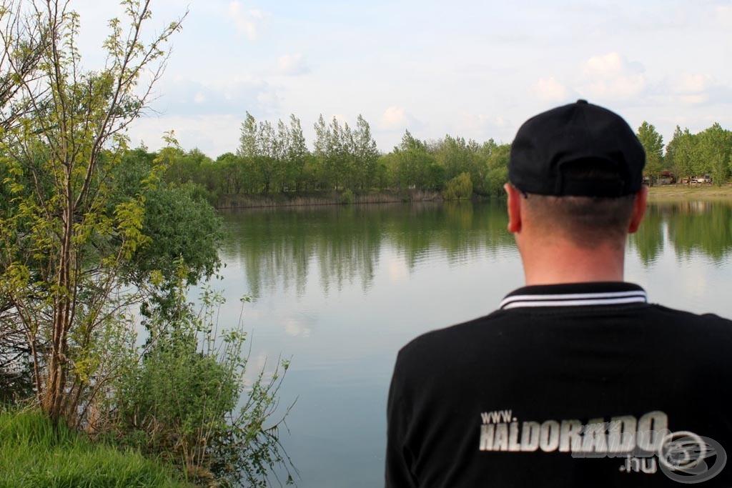 Csend, gyönyörű víz, ideális horgászidő