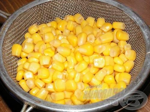 …csak egészségesek és kemények legyenek a kukoricaszemek!