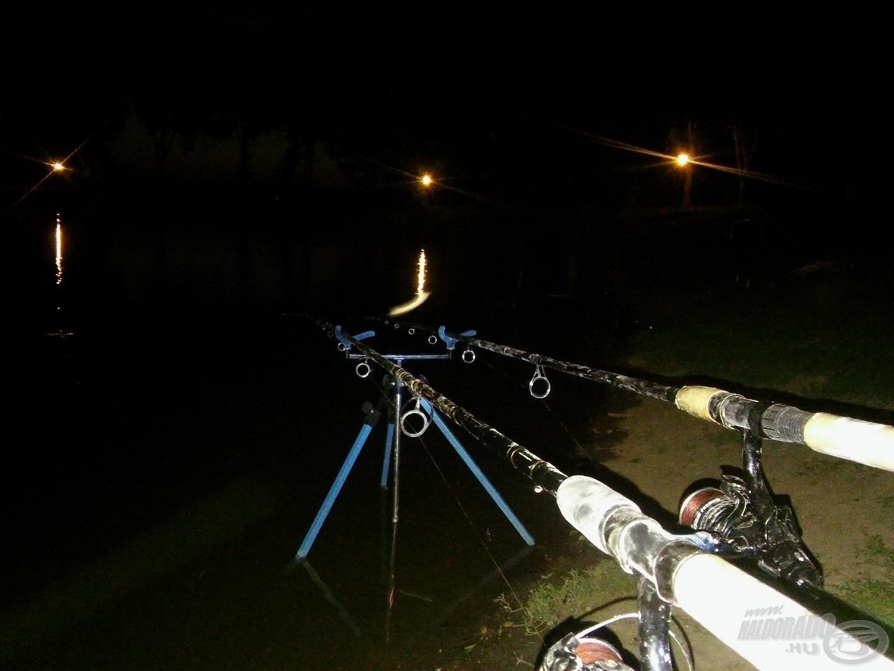 Az éjszakába nyúló horgászat számomra valamiért mindig több izgalmat tartogat