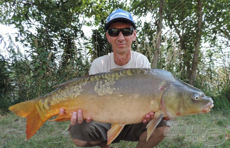 Gyuri újabb nagy hala