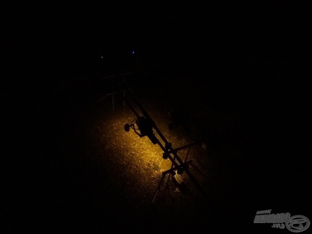 Éjszakai világítás nem árt