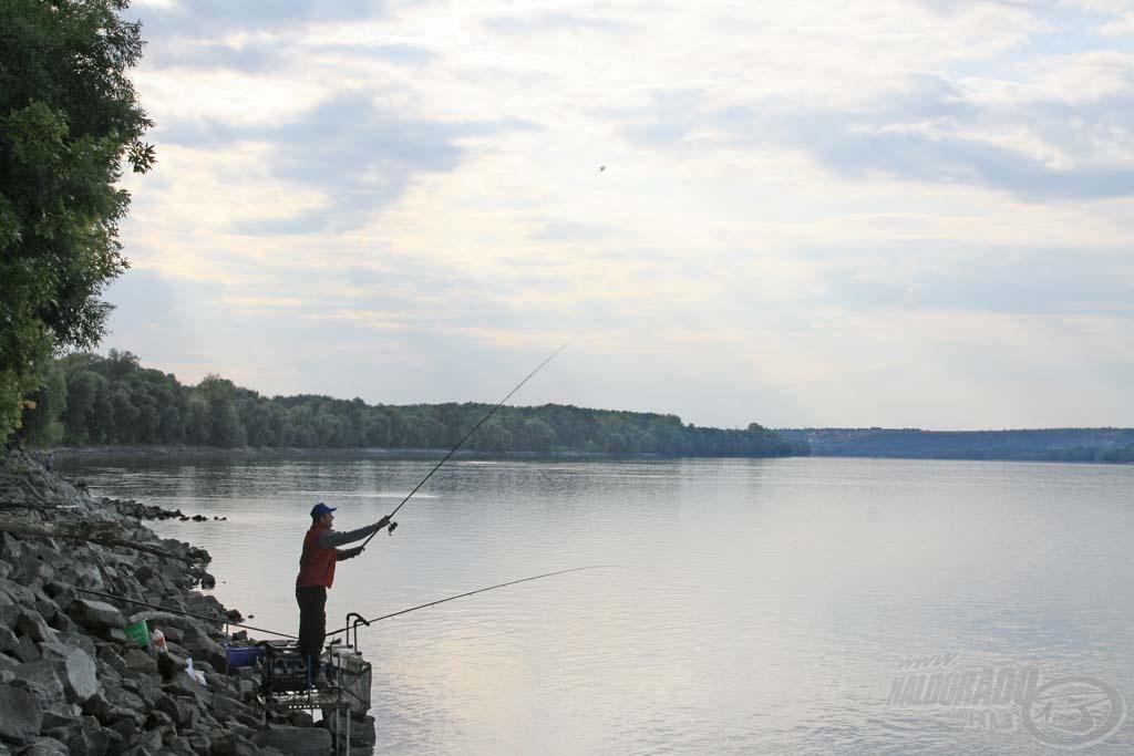 Az ordasi Duna-szakasz az átlagosnál szélesebb