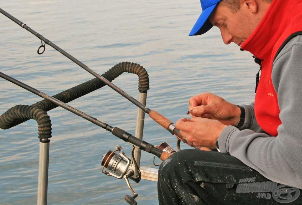 A két feederbottal rendkívül eredményes és élvezetes horgászatban volt részem