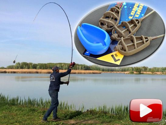 Method feeder horgászat nagy távolságra!