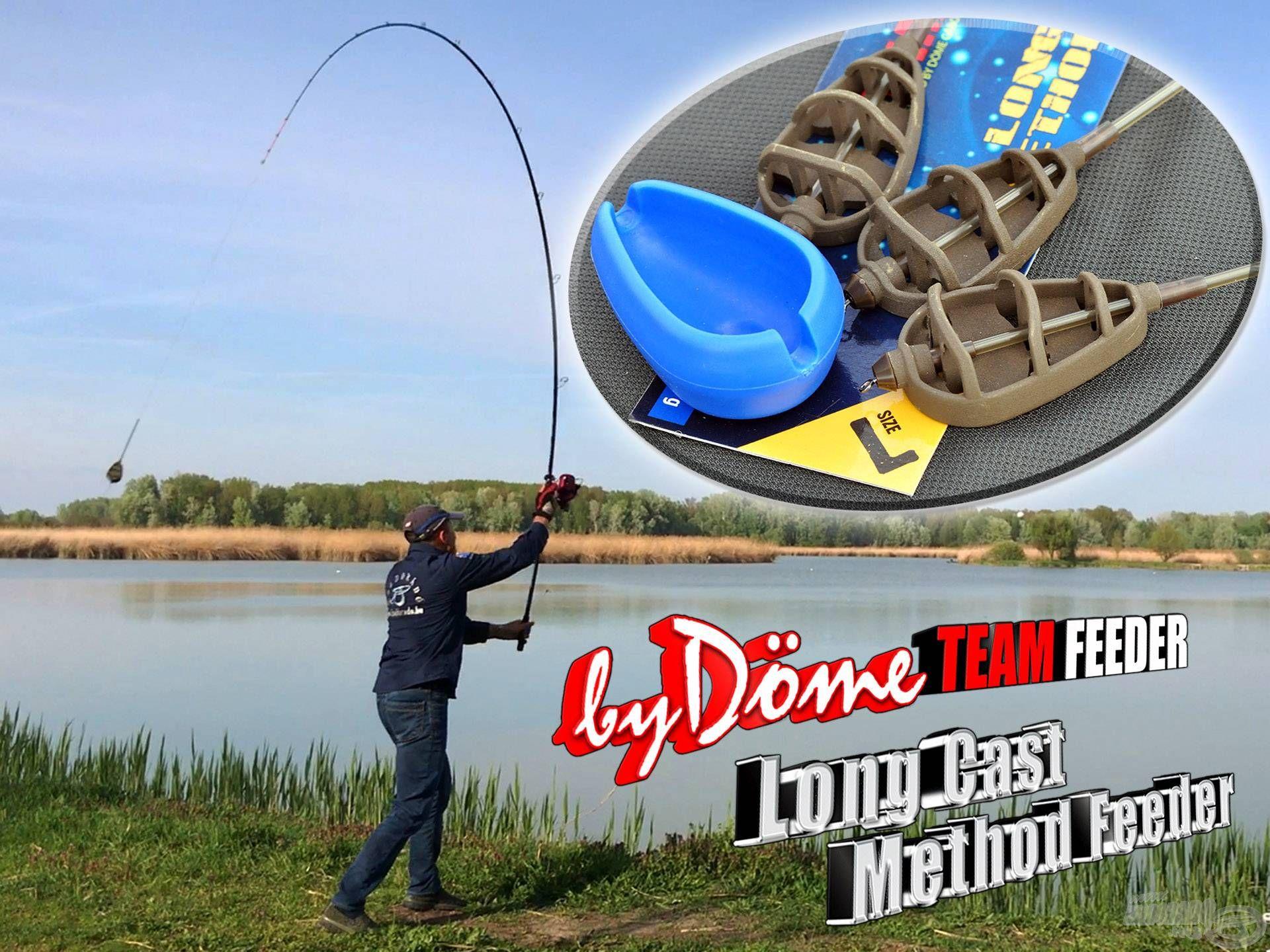 A nagy távolságú method feeder horgászathoz fejlesztett eszközök egy újabb hasznos darabbal bővültek