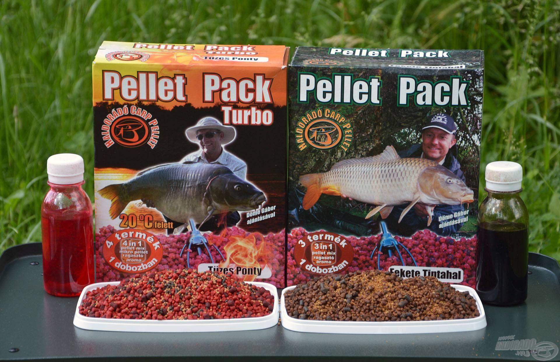 Régóta használom eredményesen ezt a Pellet Pack összeállítást a nyári időszakokban