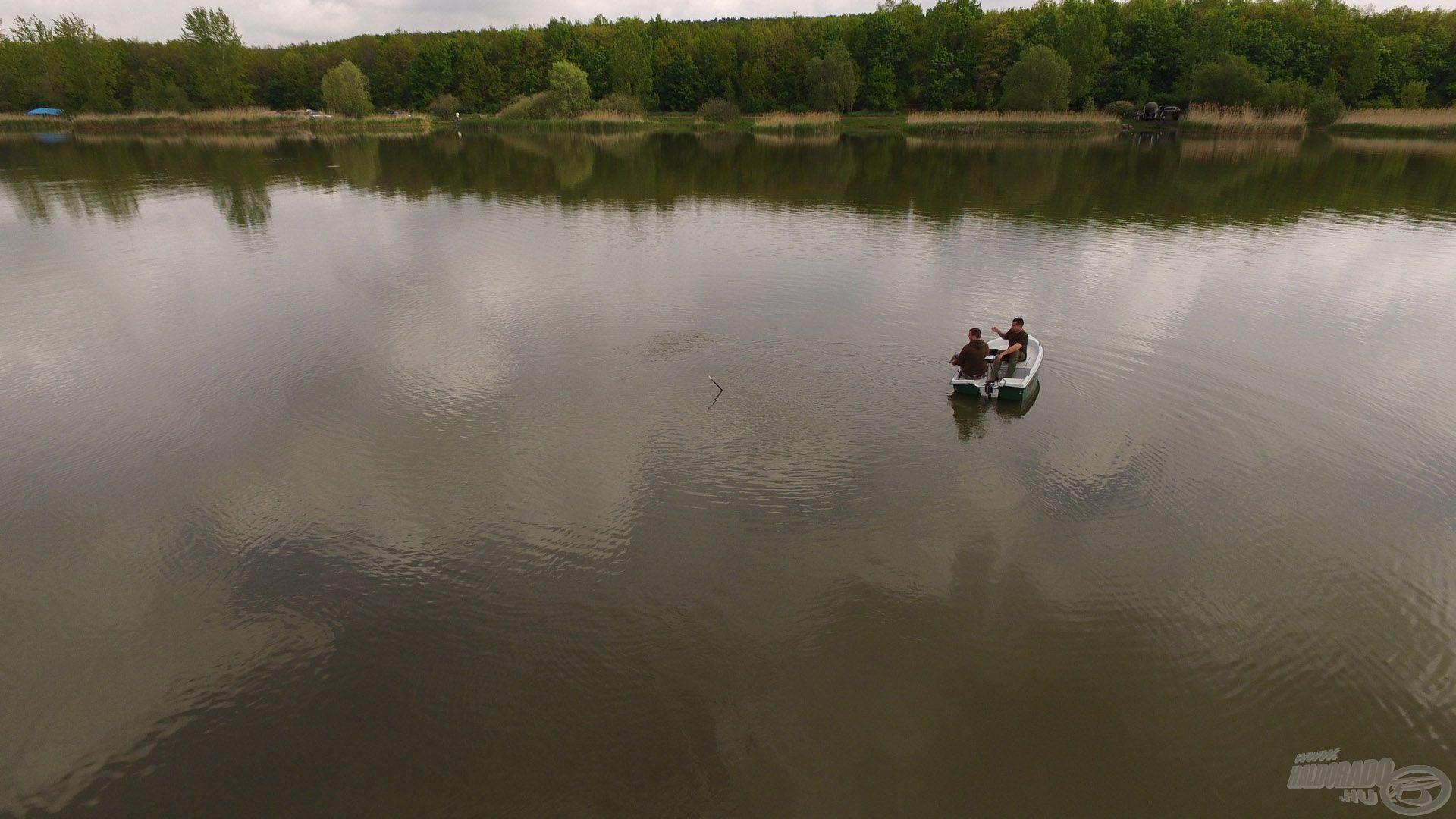 Horgászállásunk madártávlatból