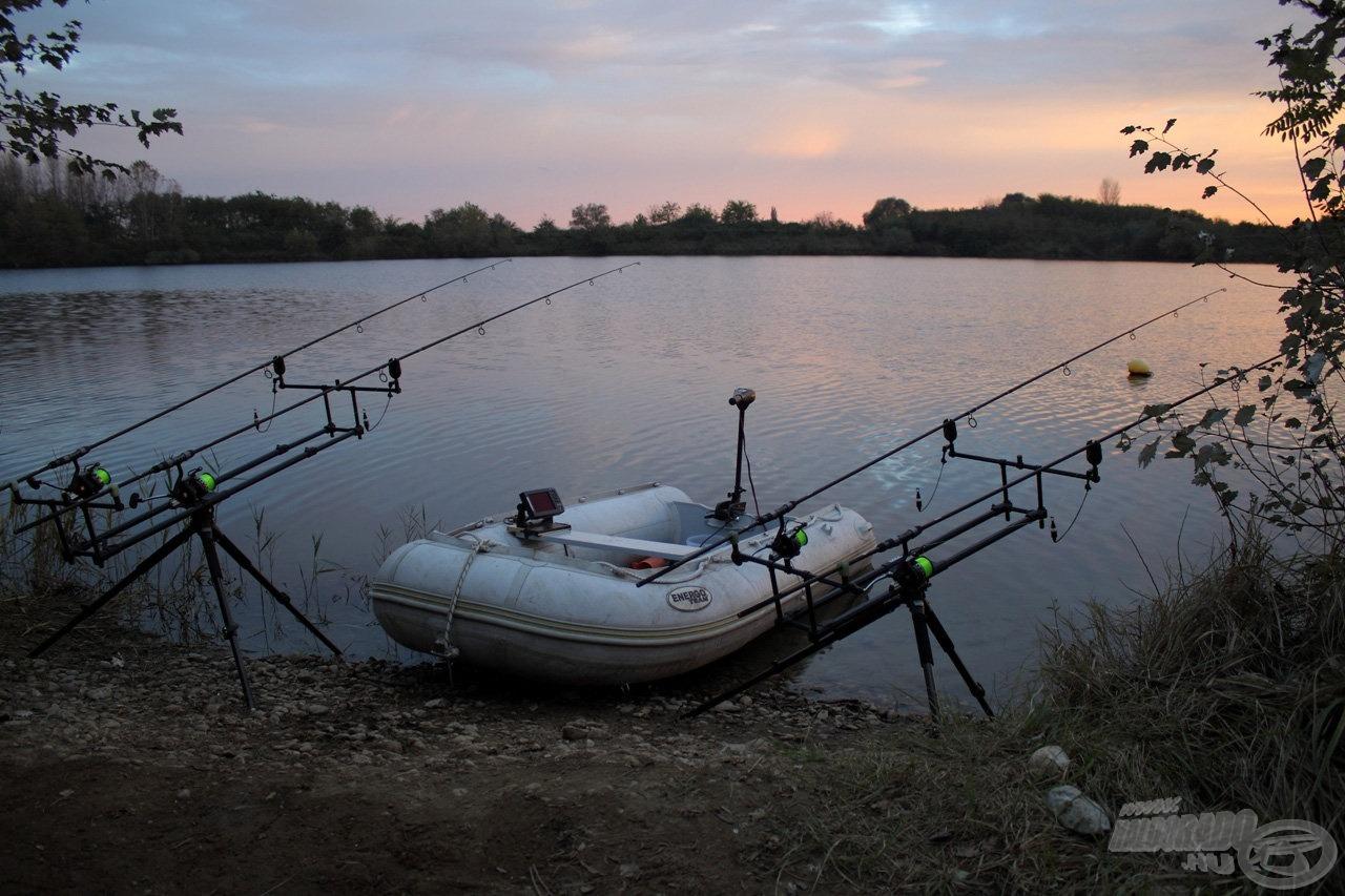 Csendélet a horgászhelyünkön