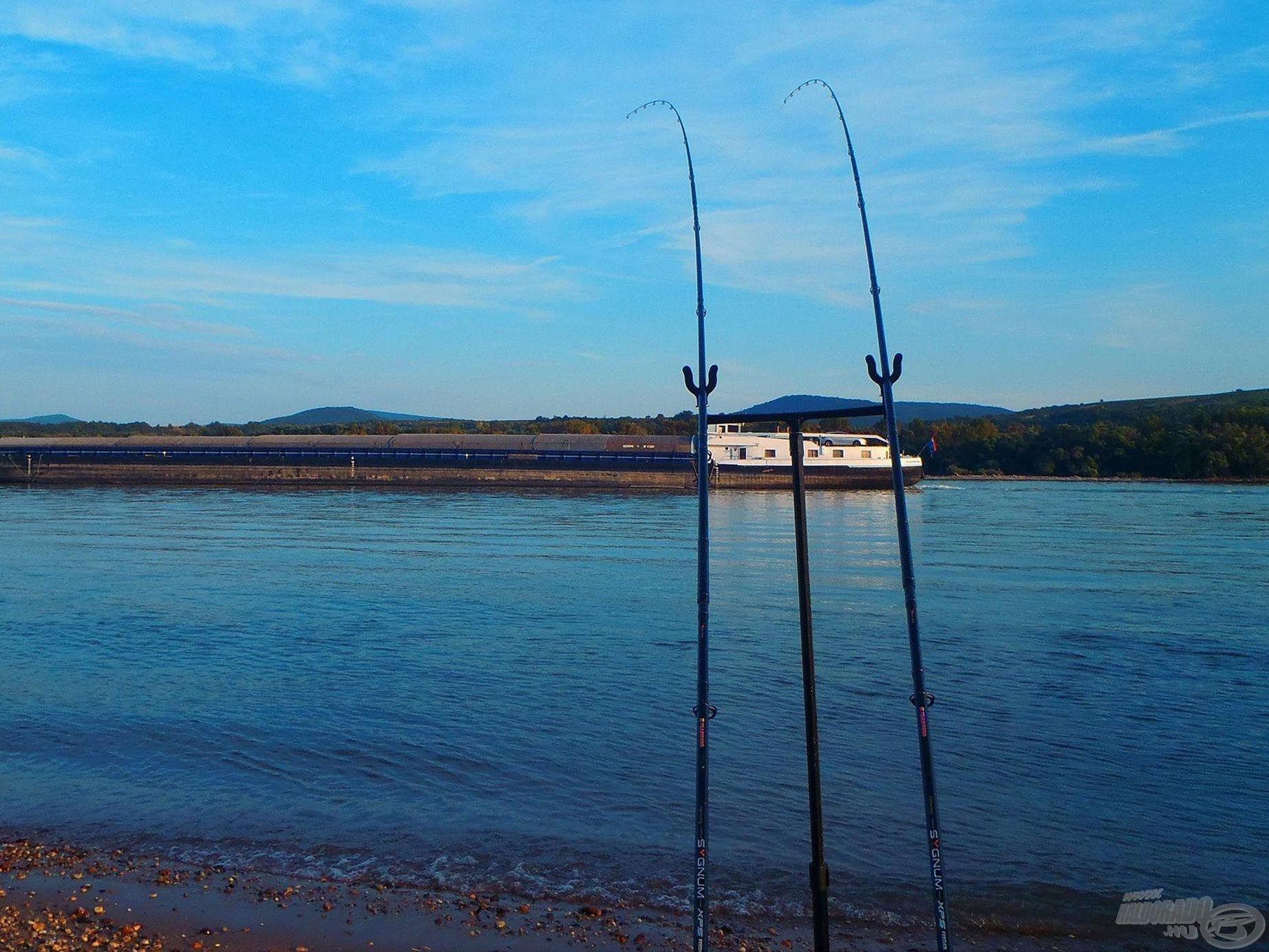 A horgászatot általában késő délután kezdem