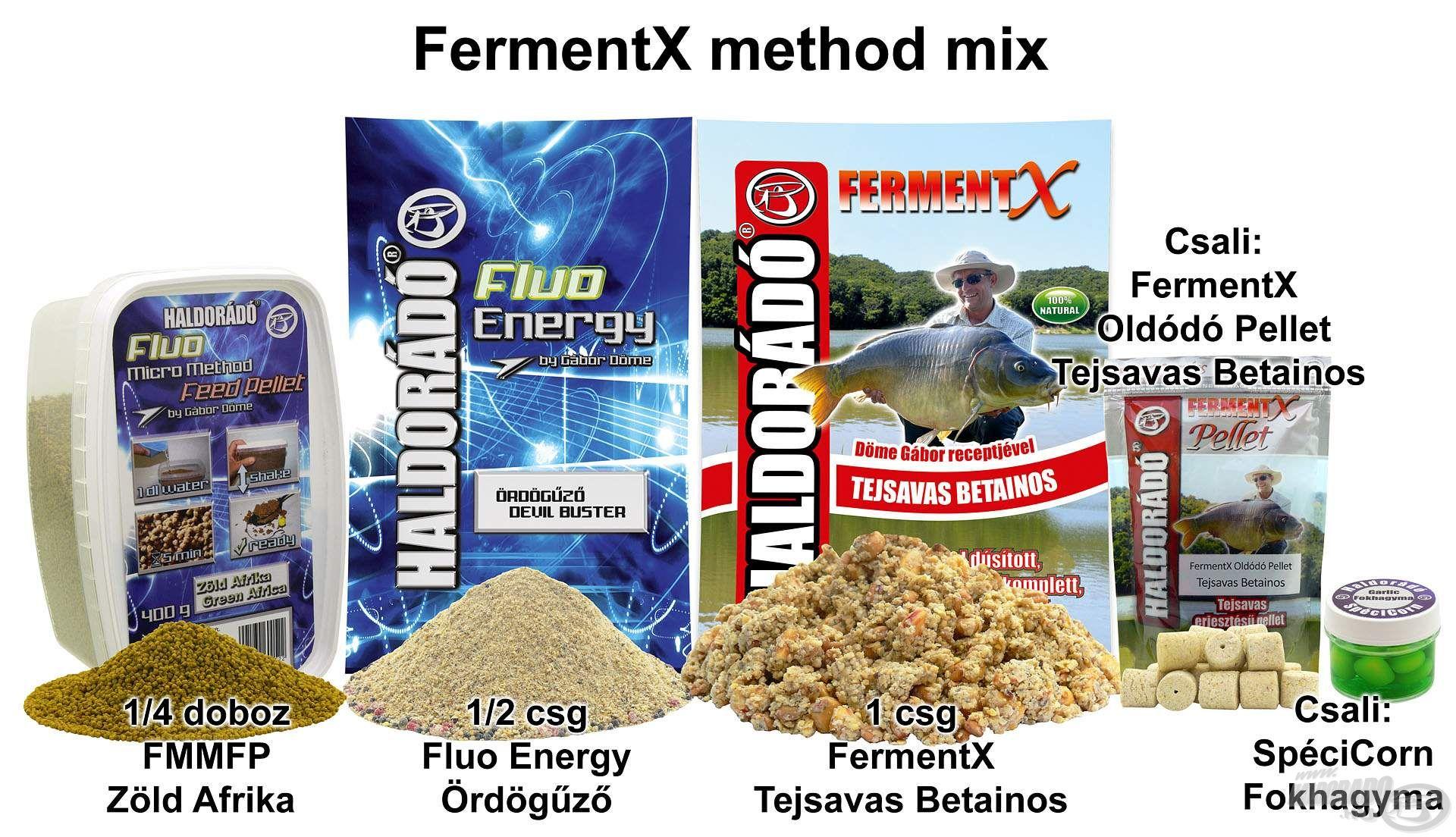 FermentX method mix