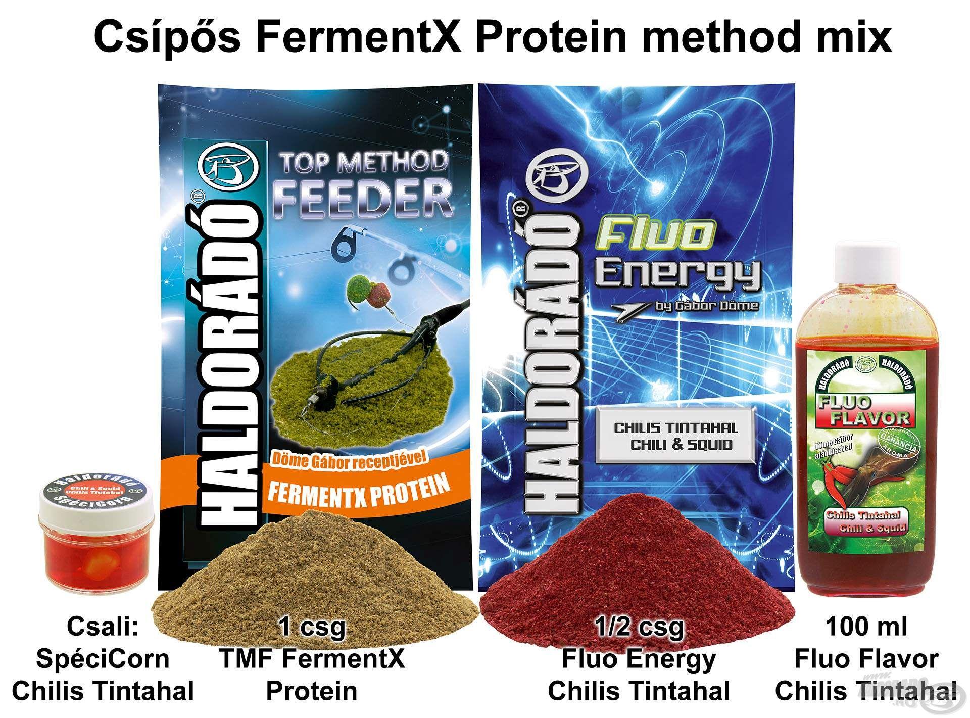 Csípős FermentX Protein method mix
