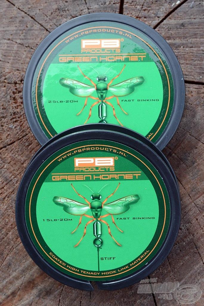 Az idén debütál a Green Hornet, melynek merevsége a Jelly Wire és a Skinless közé tehető