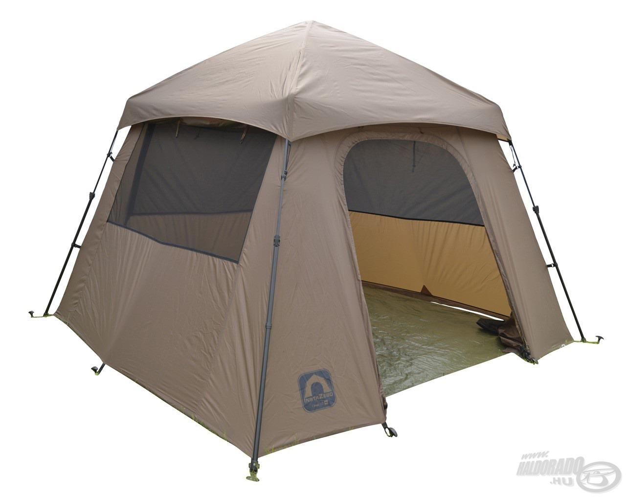 Nyári sátor azoknak, akik egy jól szellőző, teljes panoráma kilátást biztosító, könnyű és egyszerűen felállítható sátrat keresnek