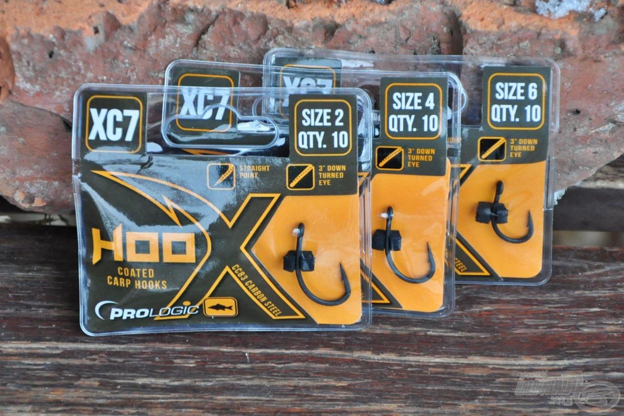 Szakállal és szakáll nélkül is elérhetőek az XC7 széria horgai