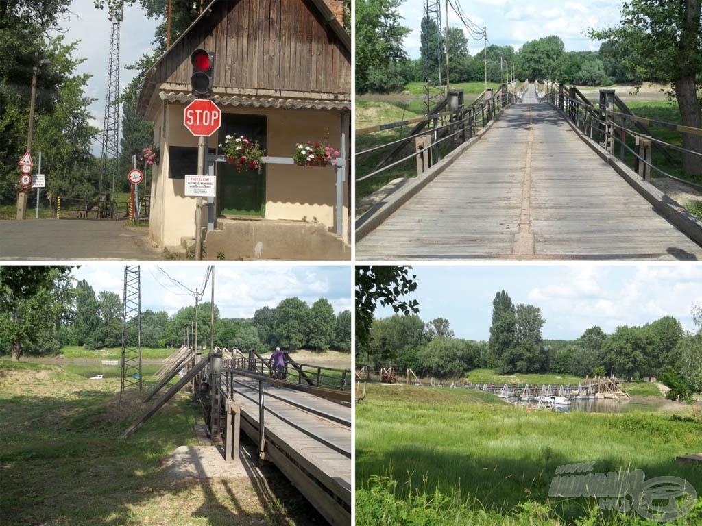 Láttunk már biztonságosabb hidat is, de jobb, mint úszva átkelni!
