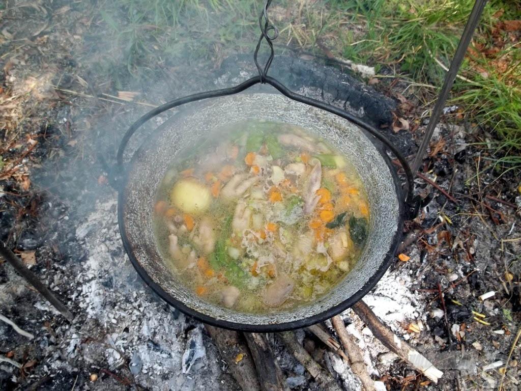 A gyógyító leves készen