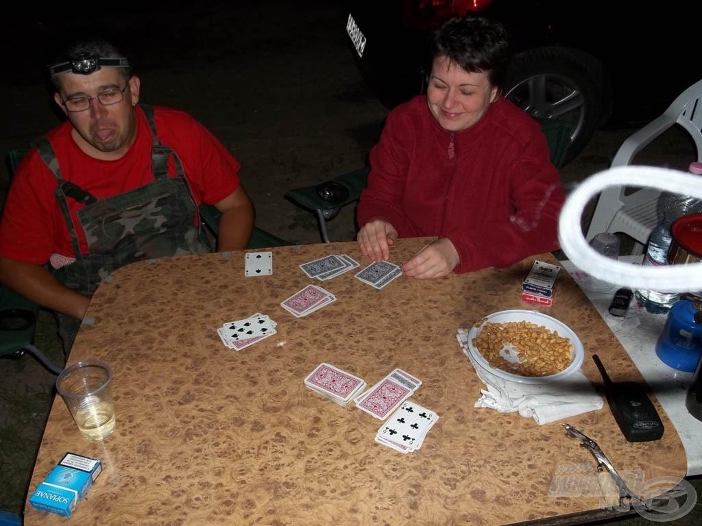 Egy rövid, de annál sikeresebb kártyaparti