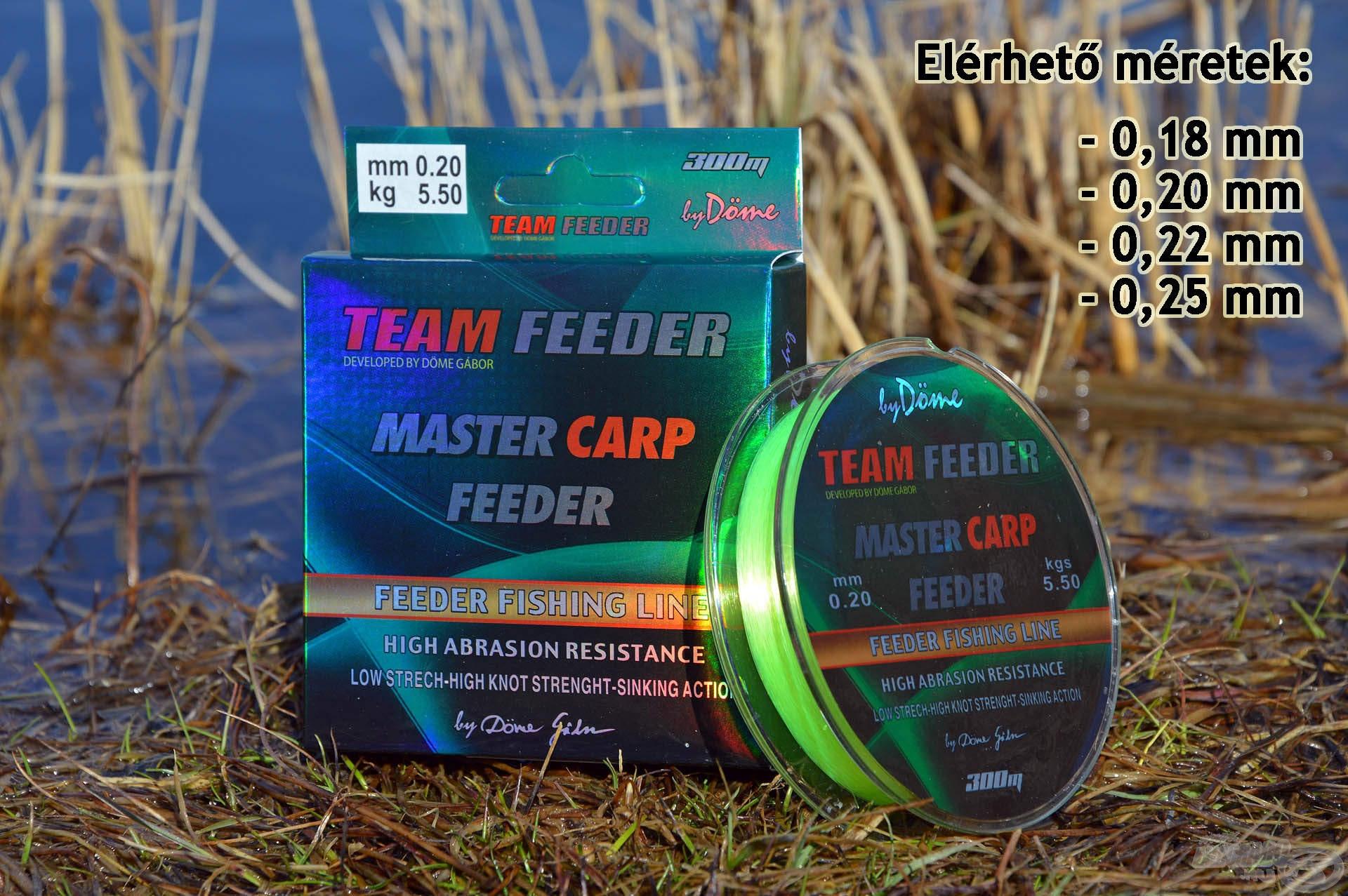A Master Carp zsinór legfontosabb tulajdonságai a kiemelkedő strapabíróság és az élénk, fényes, fluo sárga szín