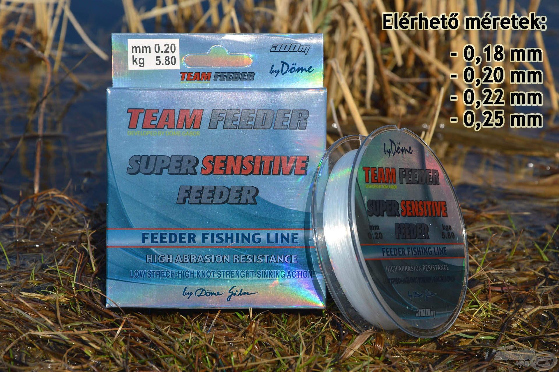 A Super Sensitive teljesít minden olyan elvárást és rendelkezik minden olyan jó tulajdonsággal, amit joggal várhatnak el a horgászok egy modern, szó szerint versenyképes horgászzsinórtól!