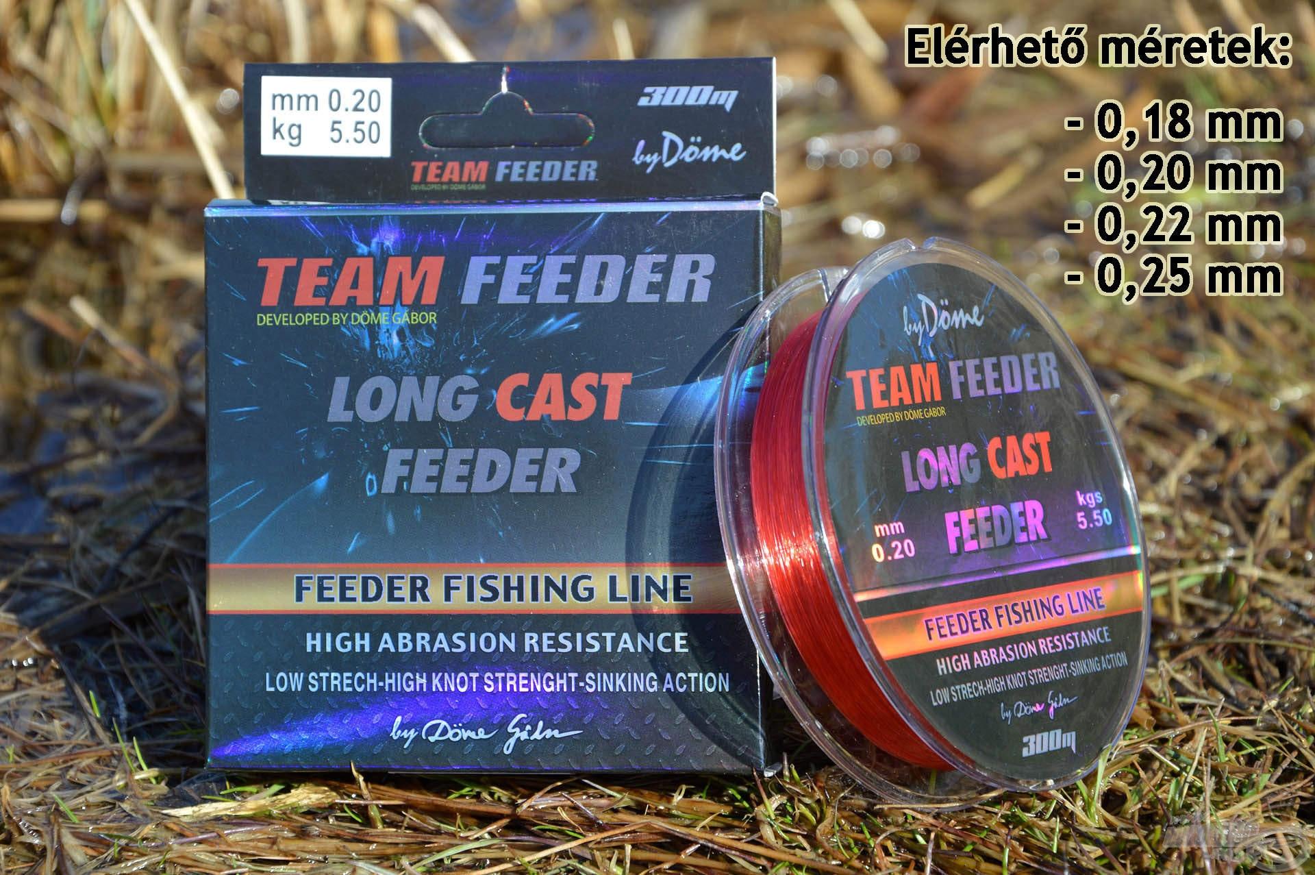 A Long Cast kimondottan a távoli dobásokhoz készült, precíziós horgászzsinór