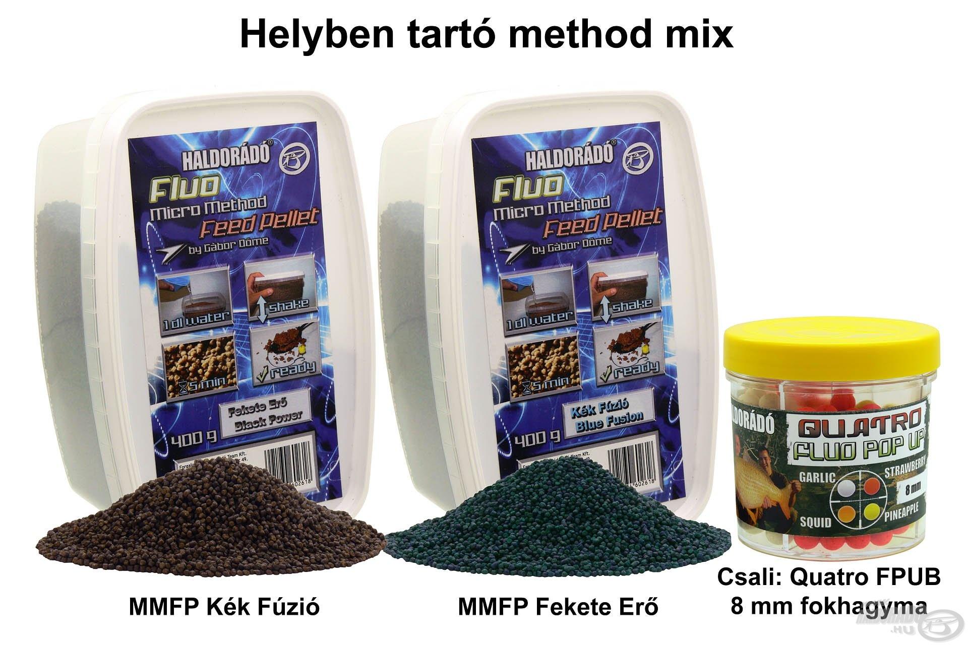 Helyben tartó method mix
