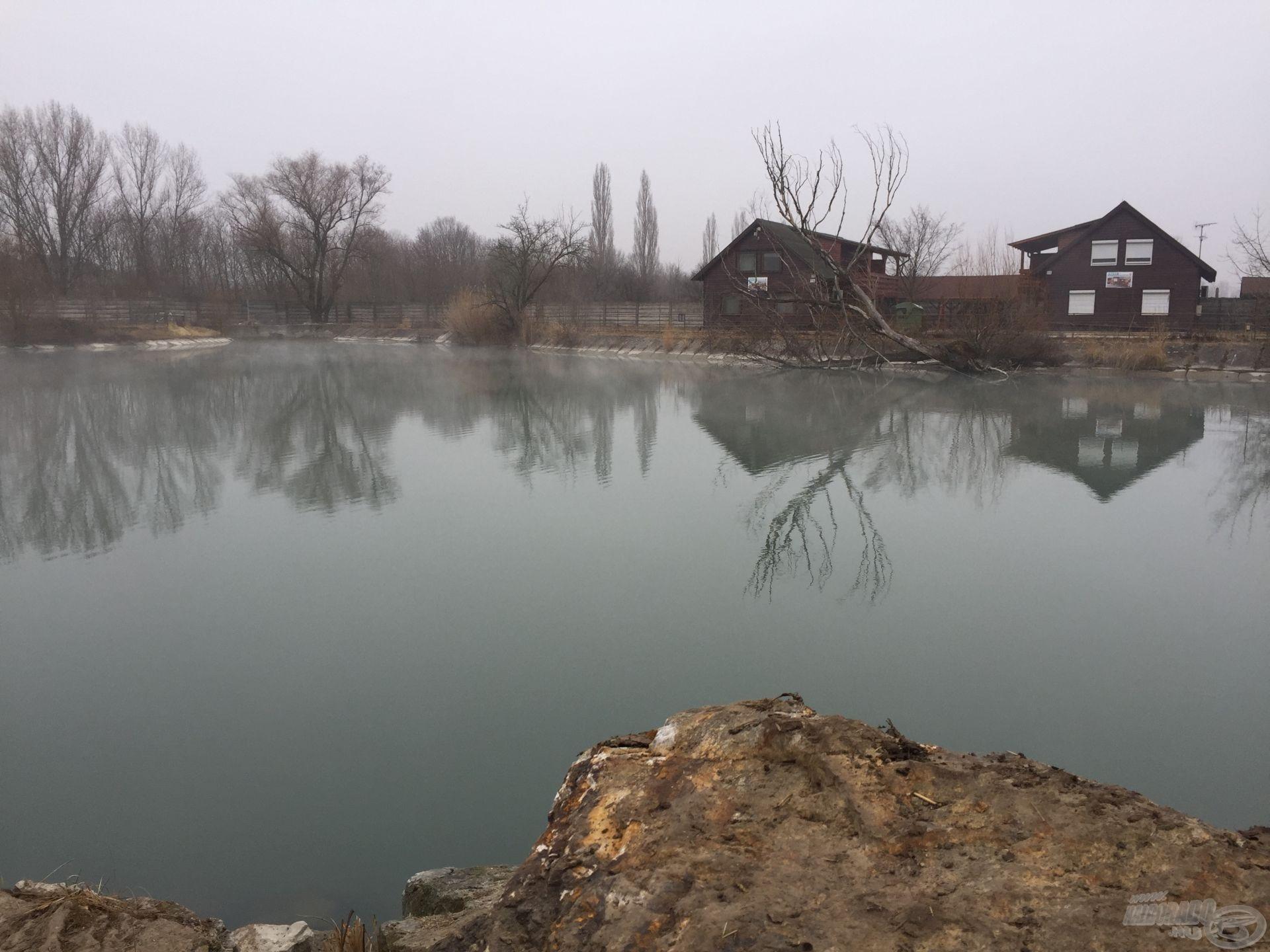 A meleg vizű Vadas Horgásztó