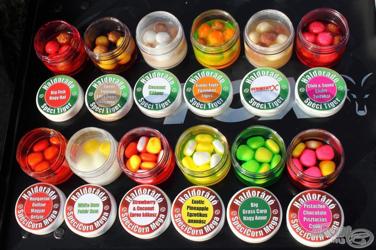 Minden Spéci termék 6 ízben került forgalomba
