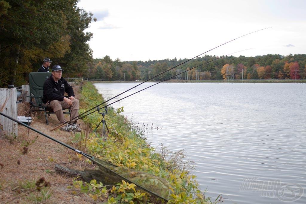 A pörgős, gyors horgászatot kedvelem, kis túlzással belebetegszem az órákig tartó semmittevésbe