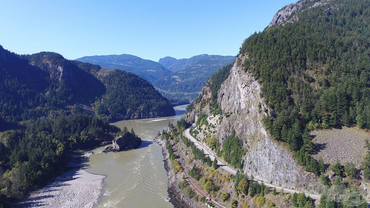 A Fraser-kanyon a tapasztalt folyóvízi pecásokat is ámulatba ejti