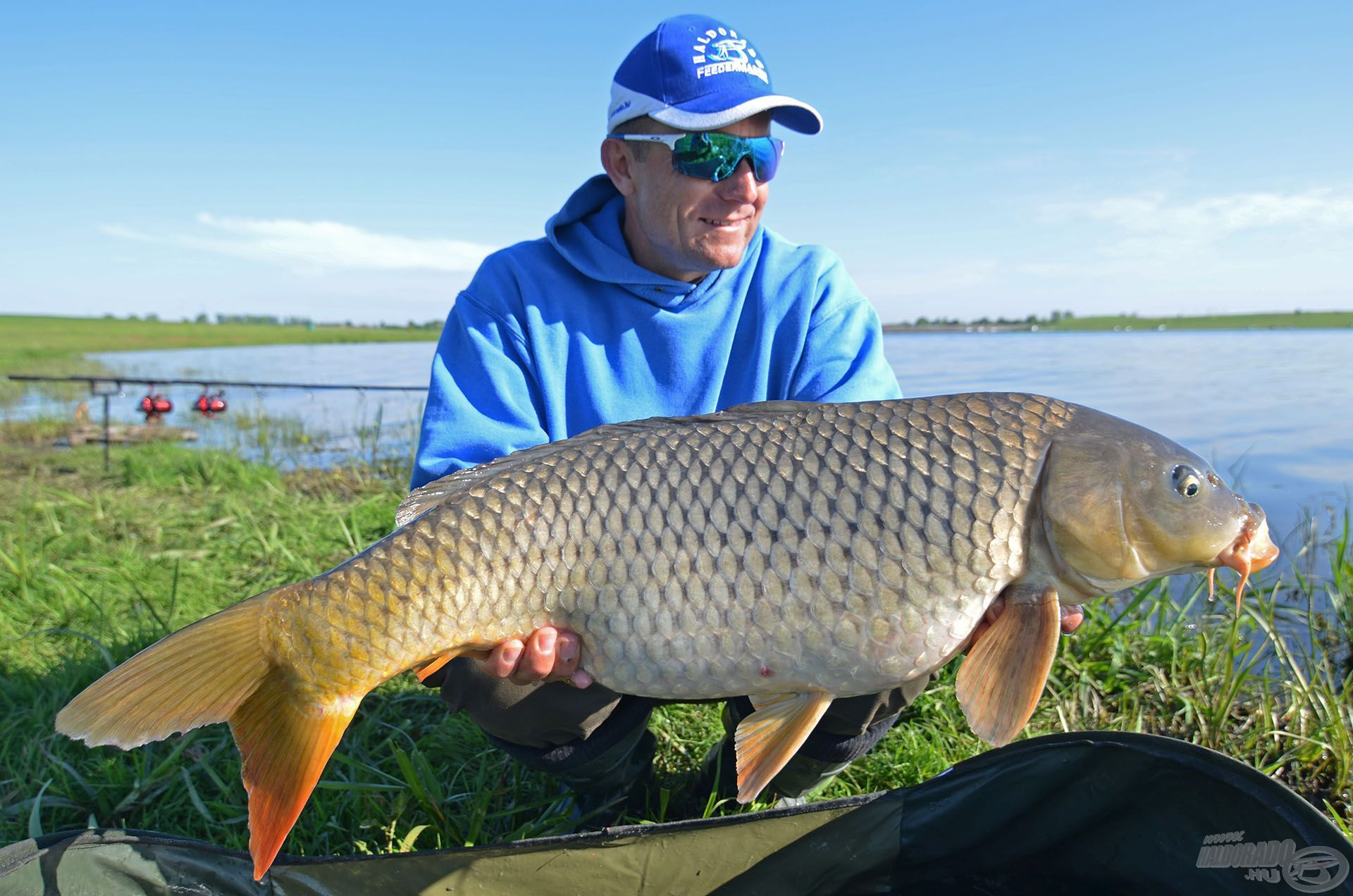 … és legyen szó bármekkora vízterületről, ha jó helyen próbálkozunk, ilyen csodás halakhoz segíthet hozzá!