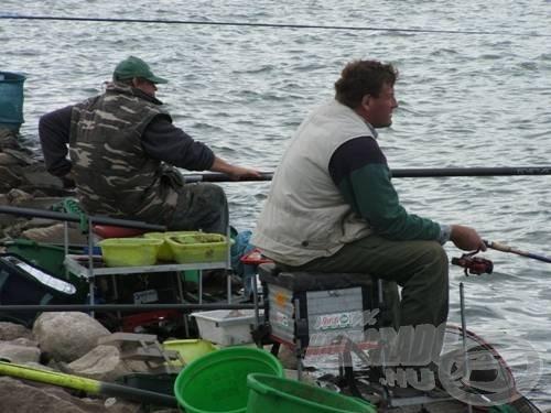 Petőcz Karcsi, aki sokat segített siravai horgászataim során