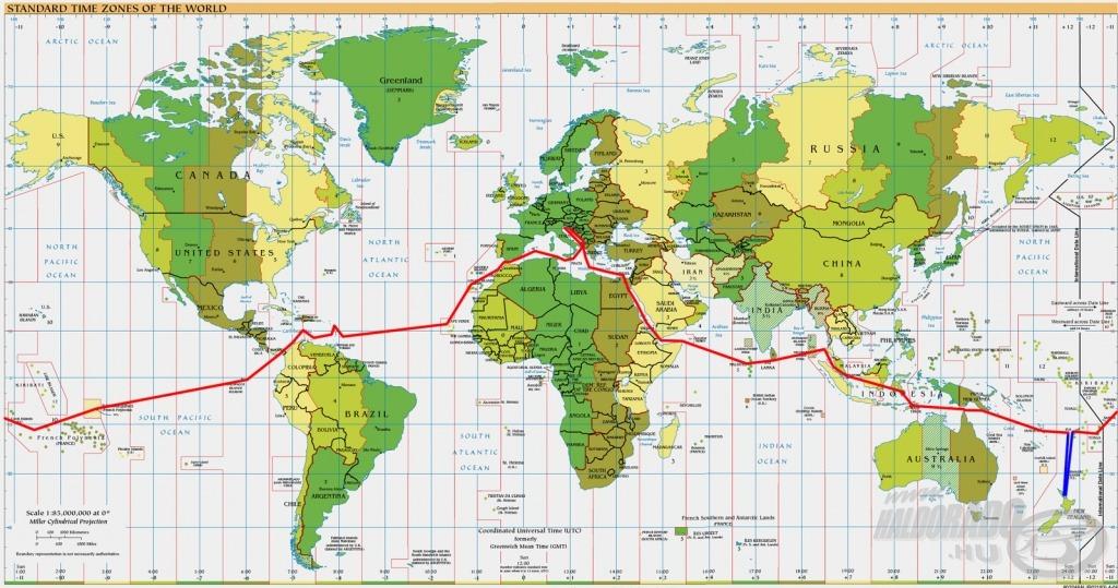 Az útvonal. ***
