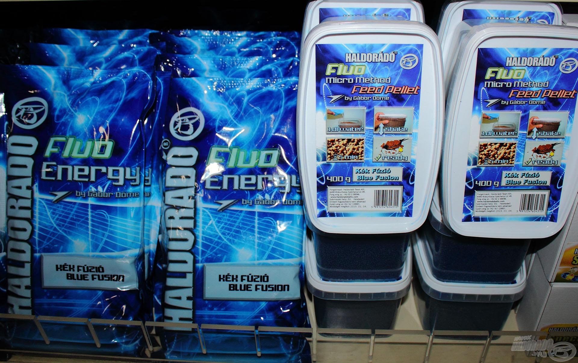 Kézzelfoghatóak végre a Kék Fúzió termékcsalád újdonságai is