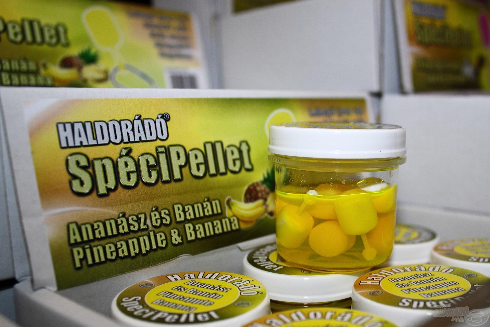 A SpéciPellet termékcsalád népszerű ízesítése volt ma is az Ananász-Banán