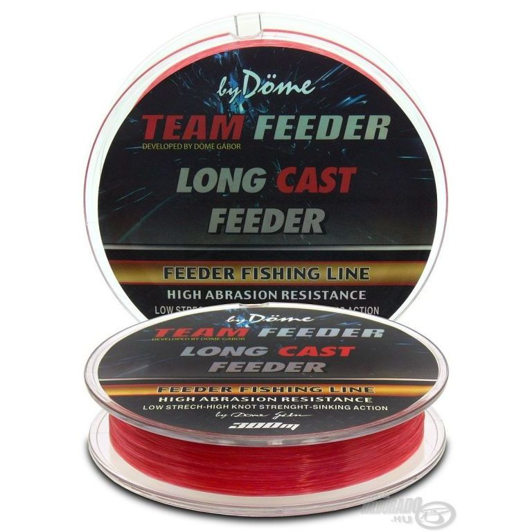 By Döme TEAM FEEDER Long Cast Line 0,18 mm