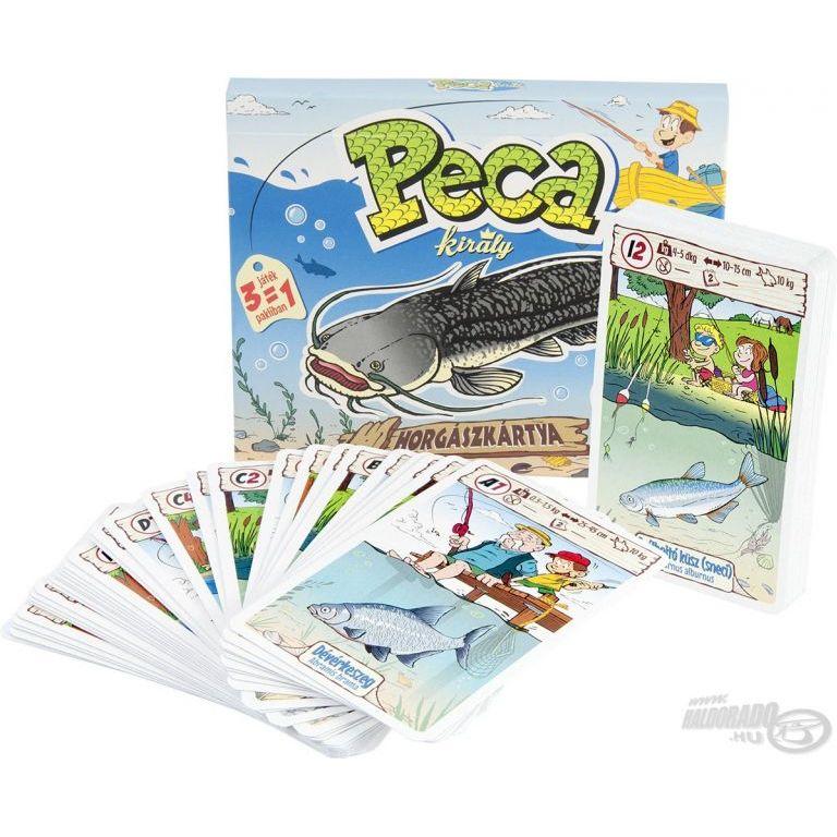 CARTAMUNDI Pecakirály 3 az 1-ben kártya játék