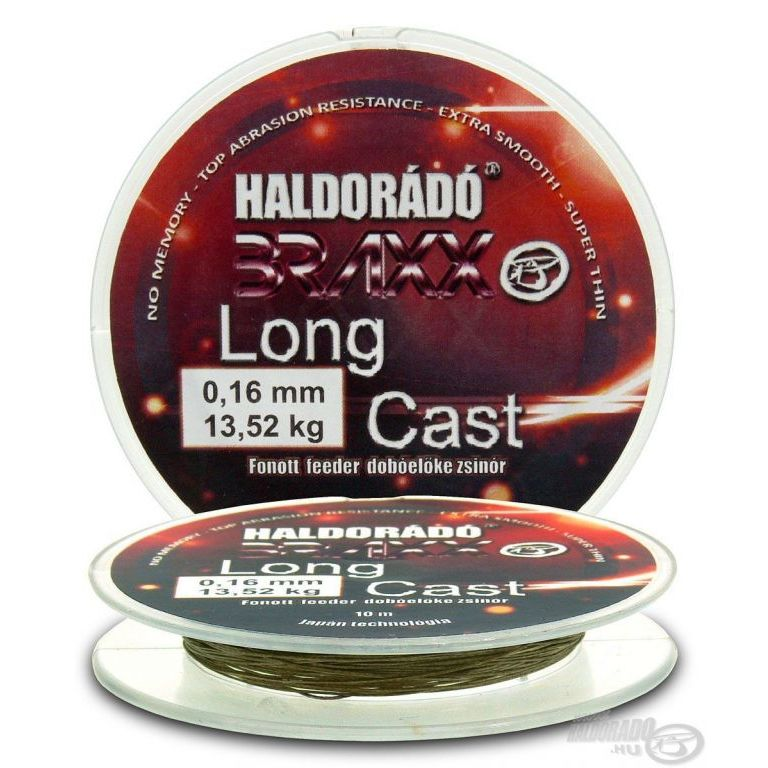 HALDORÁDÓ Braxx Long Cast 0,16 mm