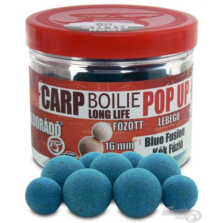 HALDORÁDÓ Pop Up főzött csalizó bojli - Kék Fúzió