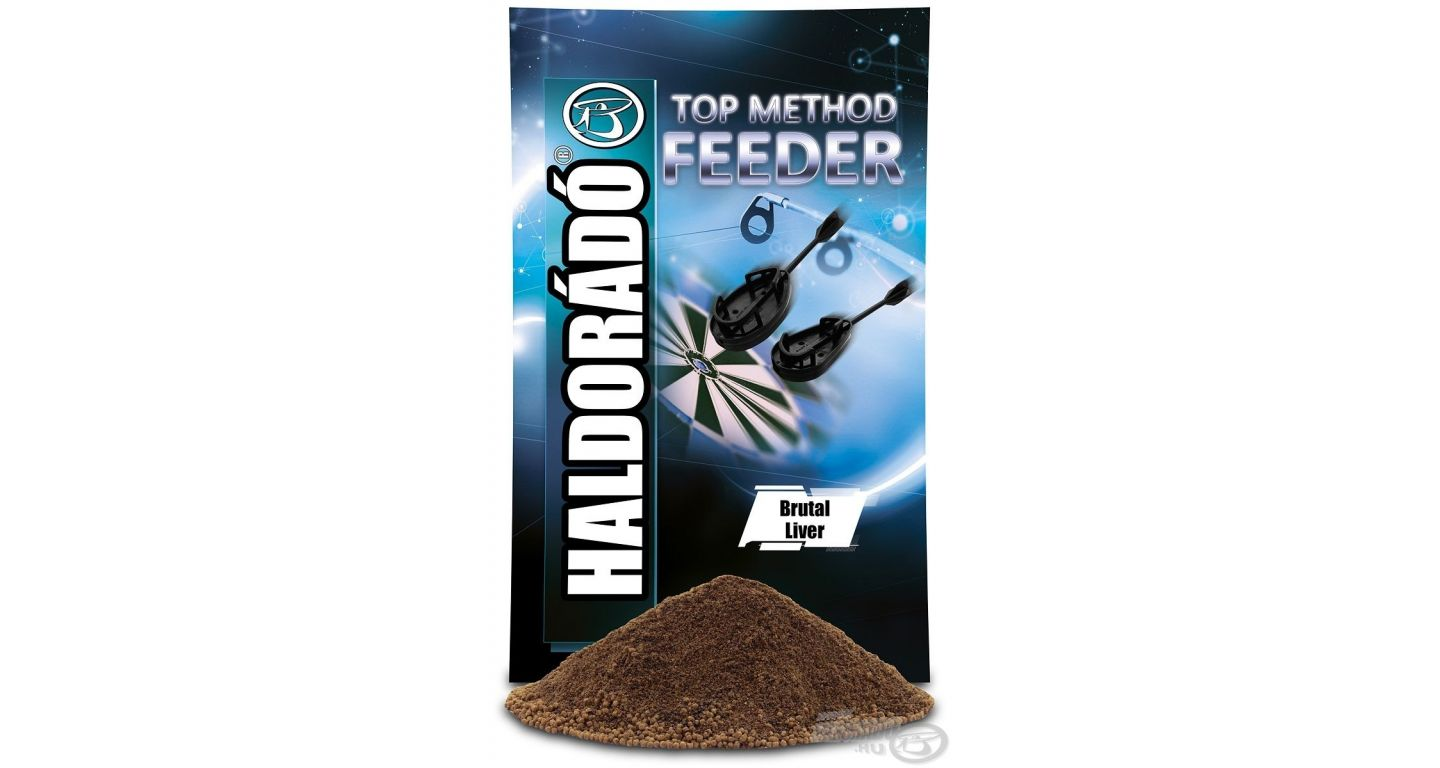 HALDORÁDÓ - TOP Method Feeder - Brutal Liver