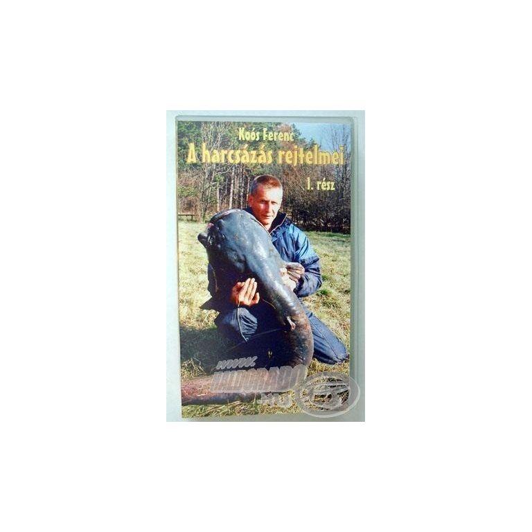 Koós Ferenc A harcsázás rejtelmei 1.rész DVD