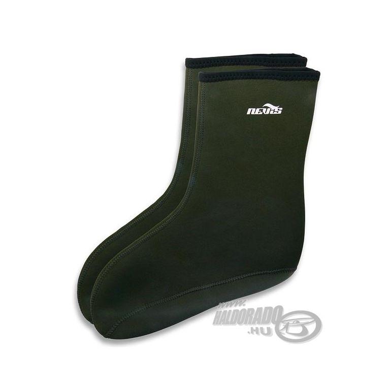 NEVIS Neoprene zokni rövid XL