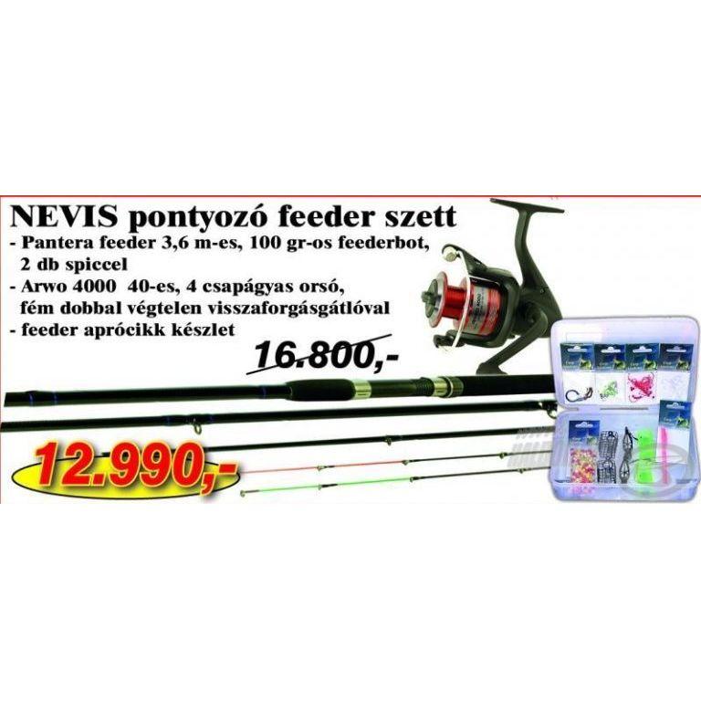NEVIS Pontyozó Feeder szett 5 (KB-441)