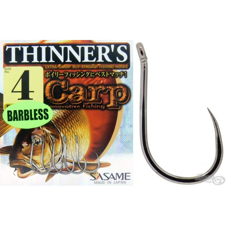 SASAME Thinner's Barbless 4