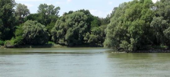 Duna folyam - Baja