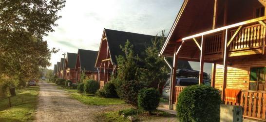Sárberki  faházak